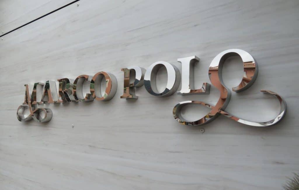 Enseigne Métallique : Marco Polo